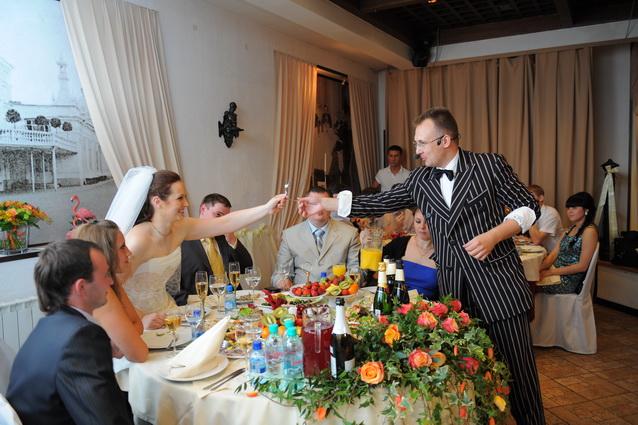 Иллюзионист на свадьбе