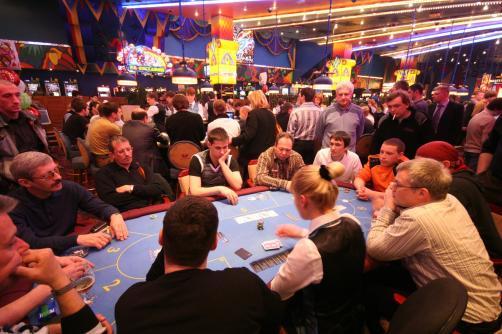 Фокусник в казино