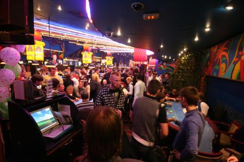 Праздник и фокусы в казино